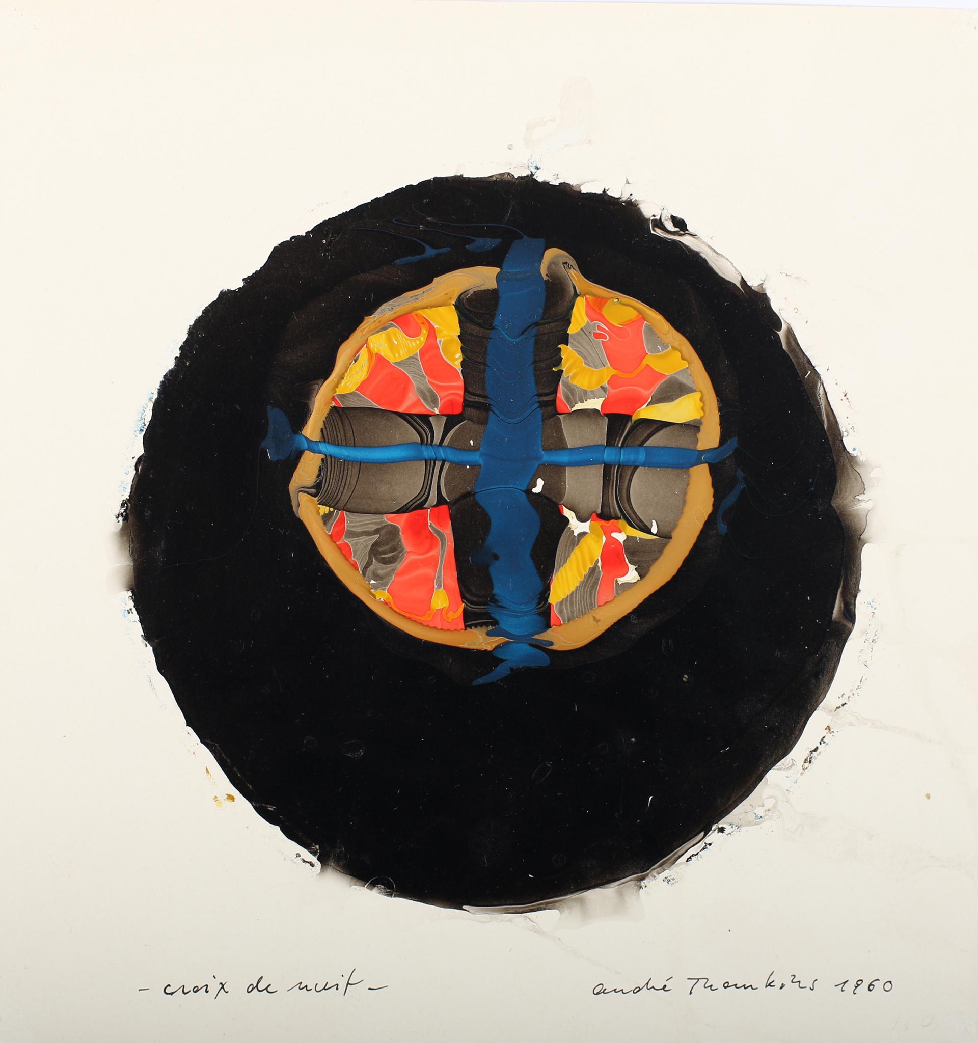 André Thomkins, Croix de nuit, 1960