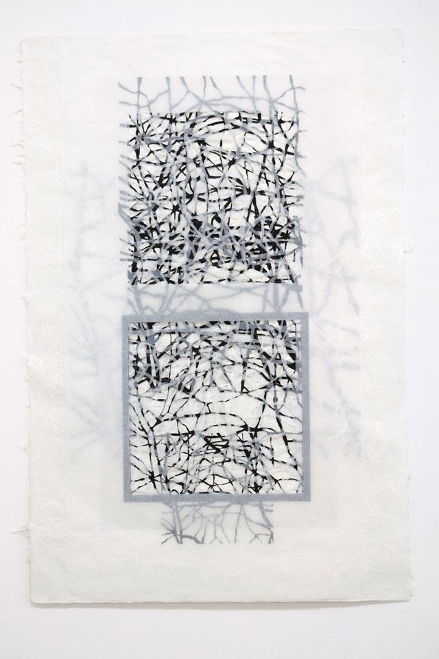Kathrin Biffi-Frey, Ohne Titel, Arbeit aus Papier.