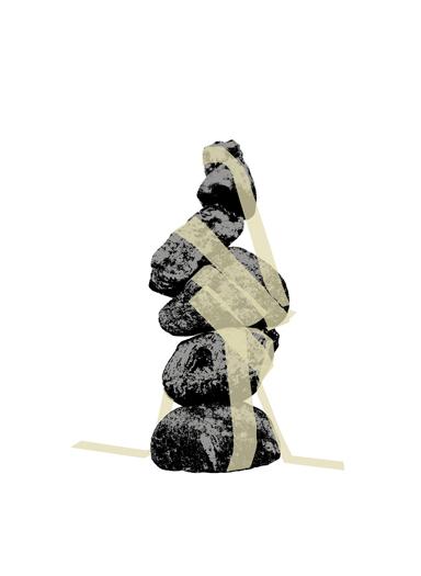 Joëlle Flumet, Ohne Titel, 2011 Siebdruck, Auflage 28 + 5