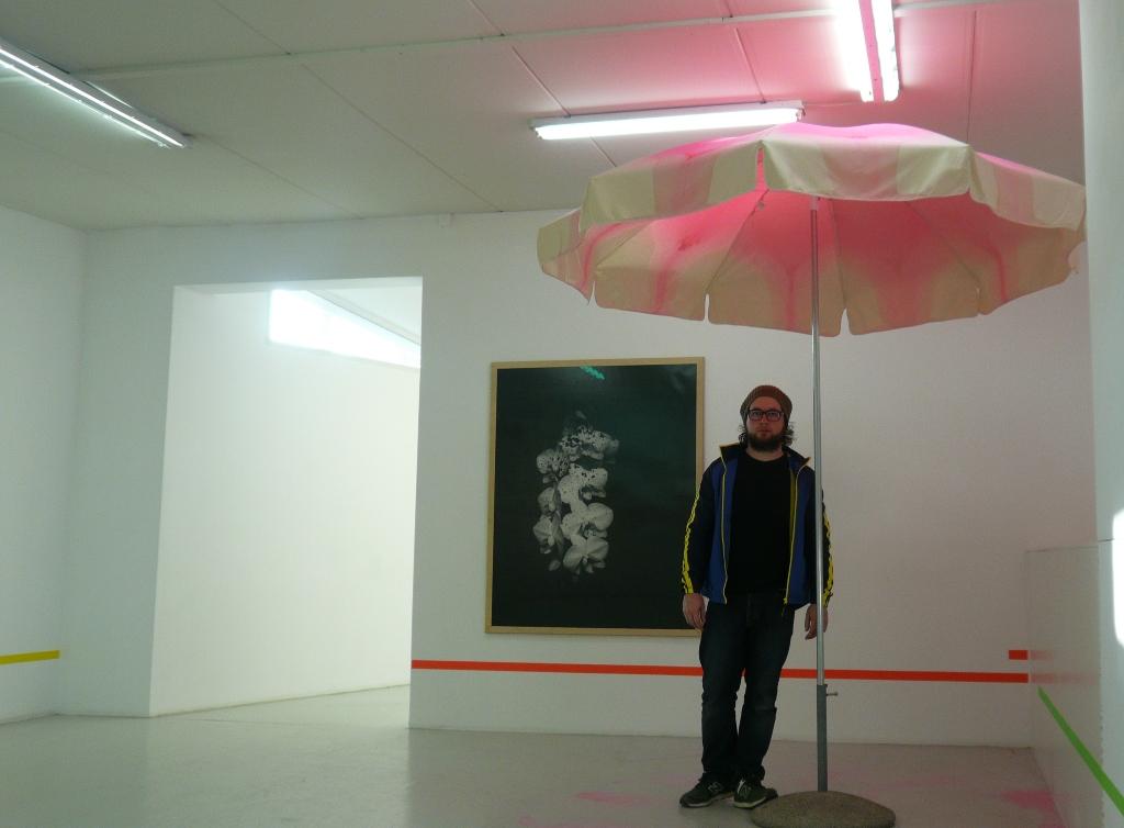 Jonas Burkhalter, Ausstellungsansicht