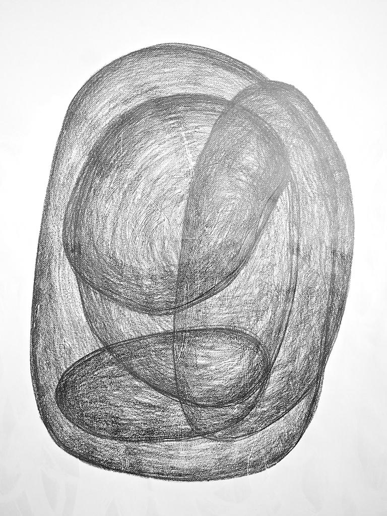 Sabine de Spindler, Graphit auf Papier, 2015