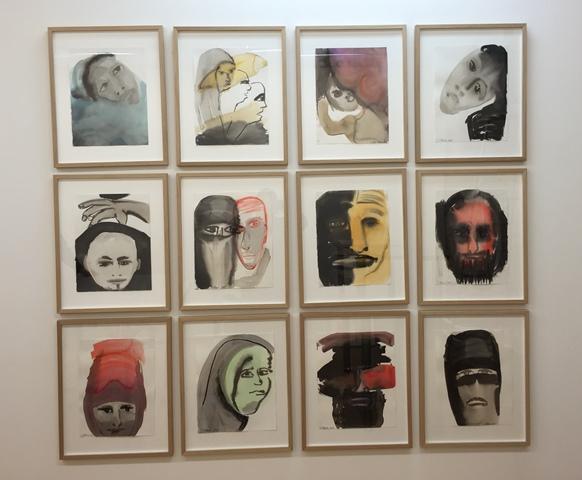 Judith Glaus, Ausstellungsansicht, 2016