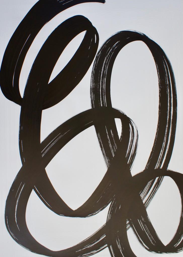 Sabine de Spindler, Essence, Tusche auf Papier, 2017