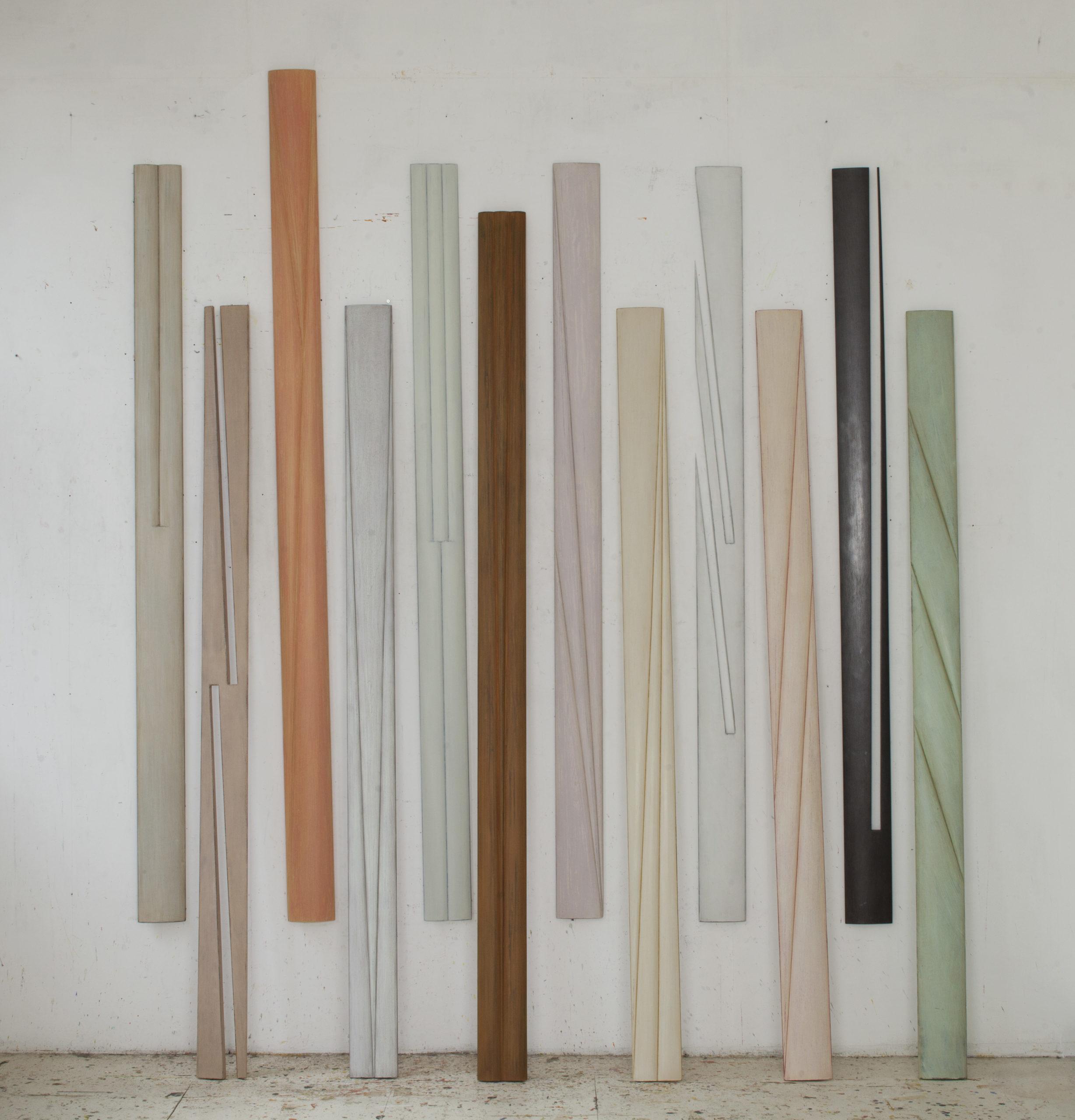 Michaël Berkhemer, Wandobjekte, 2011