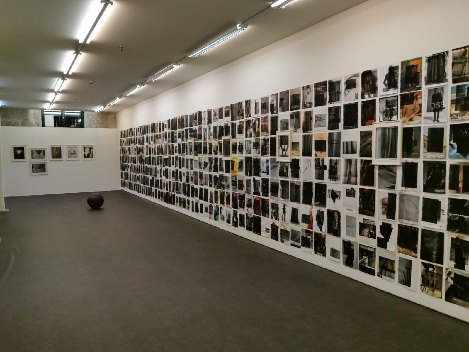 Die Wahrheit, Markus Uhr, Ausstellungsansicht 2018
