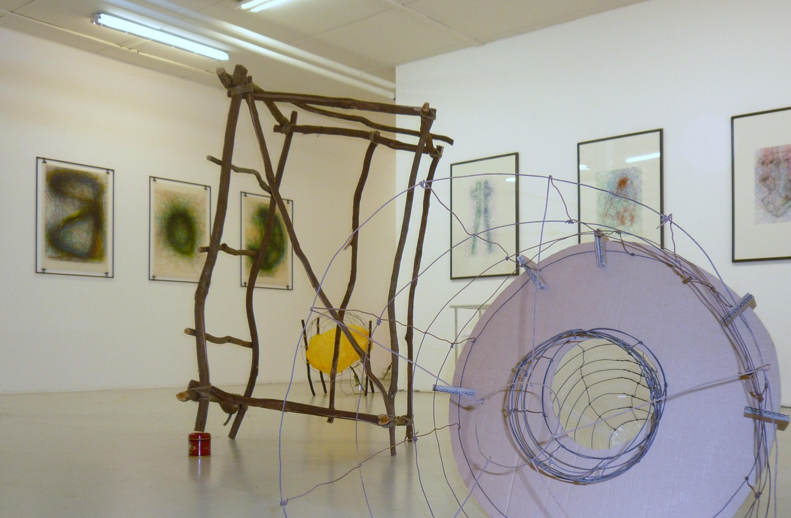 Quido Sen, Ausstellungsansicht 2015