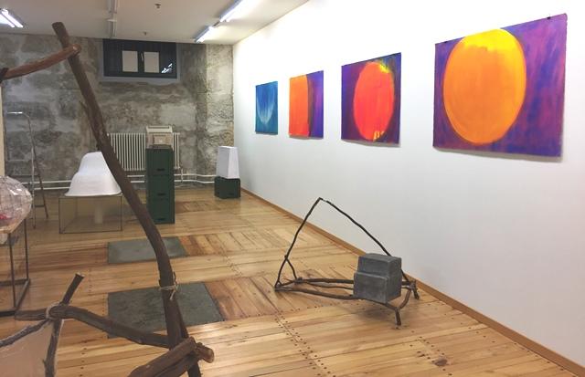 Quido Sen und Roman Kames, Ausstellungsansicht 2017