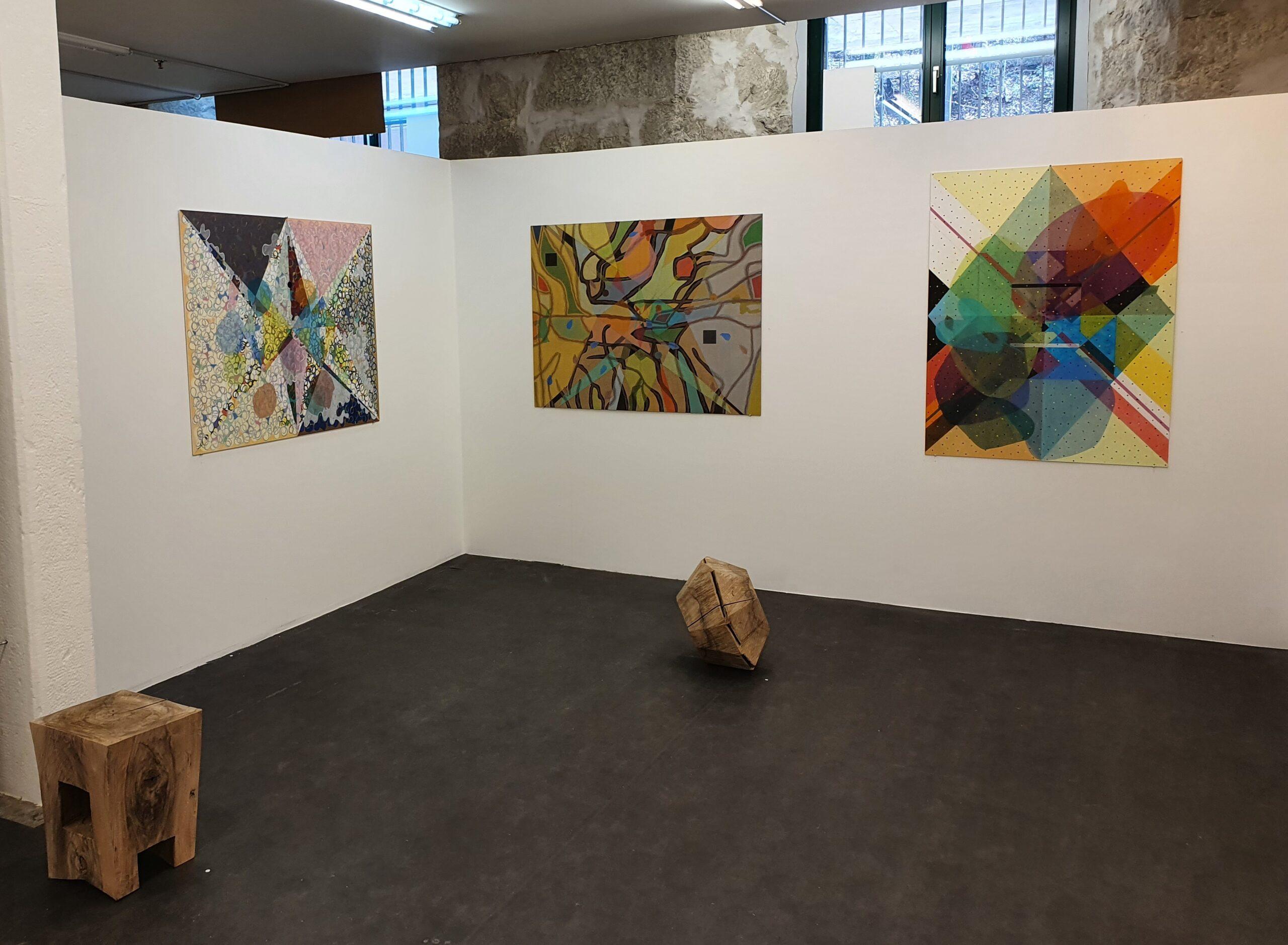 Ausstellungsansicht Eugen Jans und Beatrice Maritz