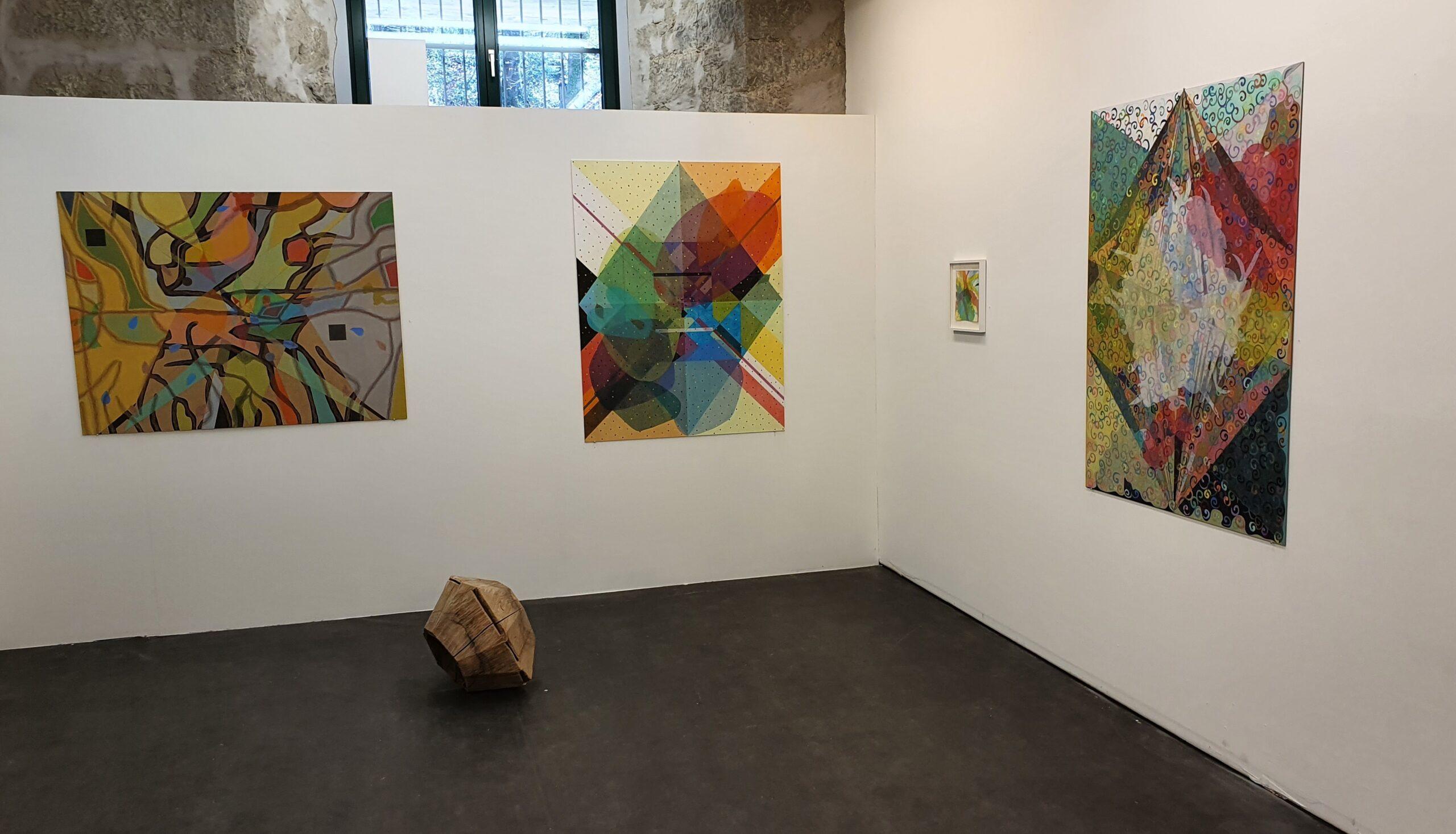 Ausstellungsansicht, Beatrice Maritz